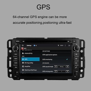 Image 4 - Android 9.0 Car GPS Navigation For GMC Yukon/Tahoe/Acadia/Buick Enclave/CHEVROLET Suburban 2007 2012 BT RDS WIFI Car DVD Player