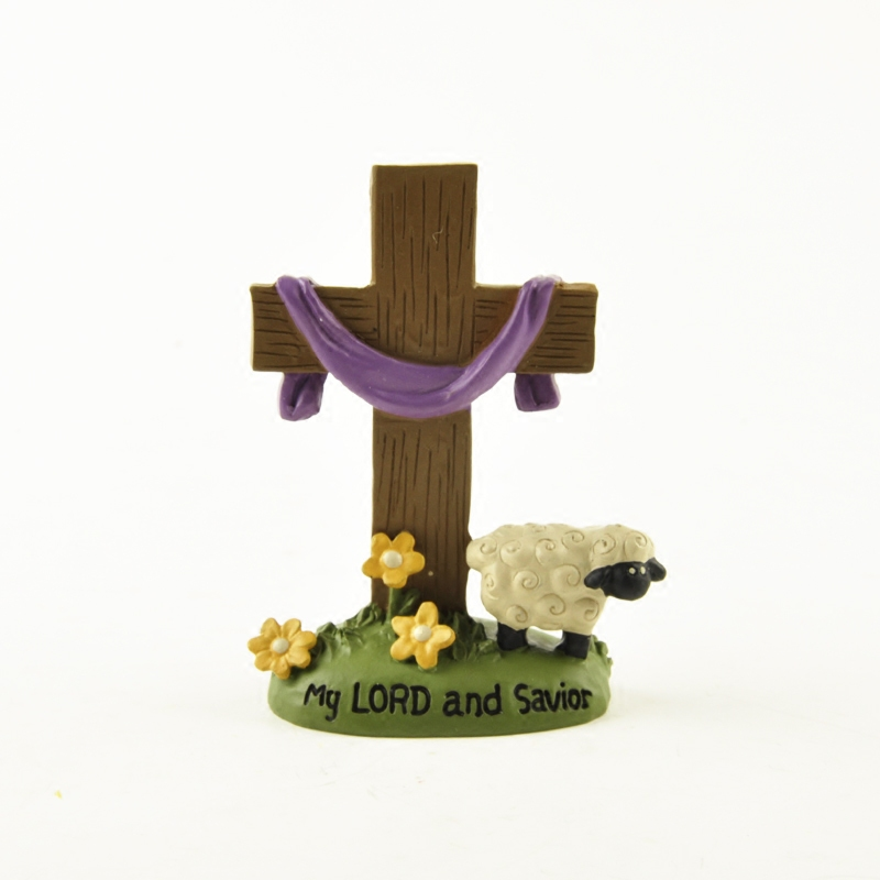 The Birth Of Jesus American Country Decorations Sunday School Gifts Christian Crosses My LORD And Savior Jesus Cross Ornaments