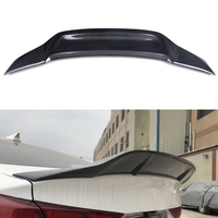 For Hyundai Elantra spoiler 2017 2019 year rear wing Renntech style Sport body kit Accessories real carbon fiber