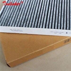 Image 4 - فلتر الهواء بالكابينة لأودي A4 8E B6 2000 2004/A4 B7 2004 2008/8H B6 B7 2002 2009/أودي A6 C5/اولرود 2000 2005 نموذج الكربون فلتر