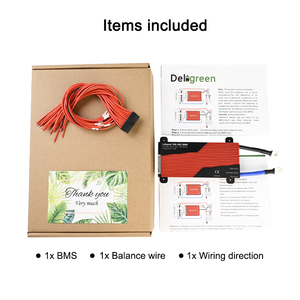 Image 5 - ديليجرين 13S 80A 100A 120A 150A 200A 250A 48 فولت PCM/PCB/BMS لبطارية ليثيوم بو LiNCM حزمة بطارية ليثيوم أيون 18650