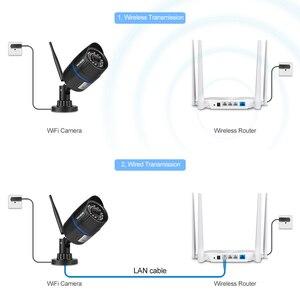 Image 5 - Techege 1080P Wi Fi камера 2.0MP Крытая уличная Водонепроницаемая Проводная беспроводная камера видеонаблюдения с ночным видением sd карта