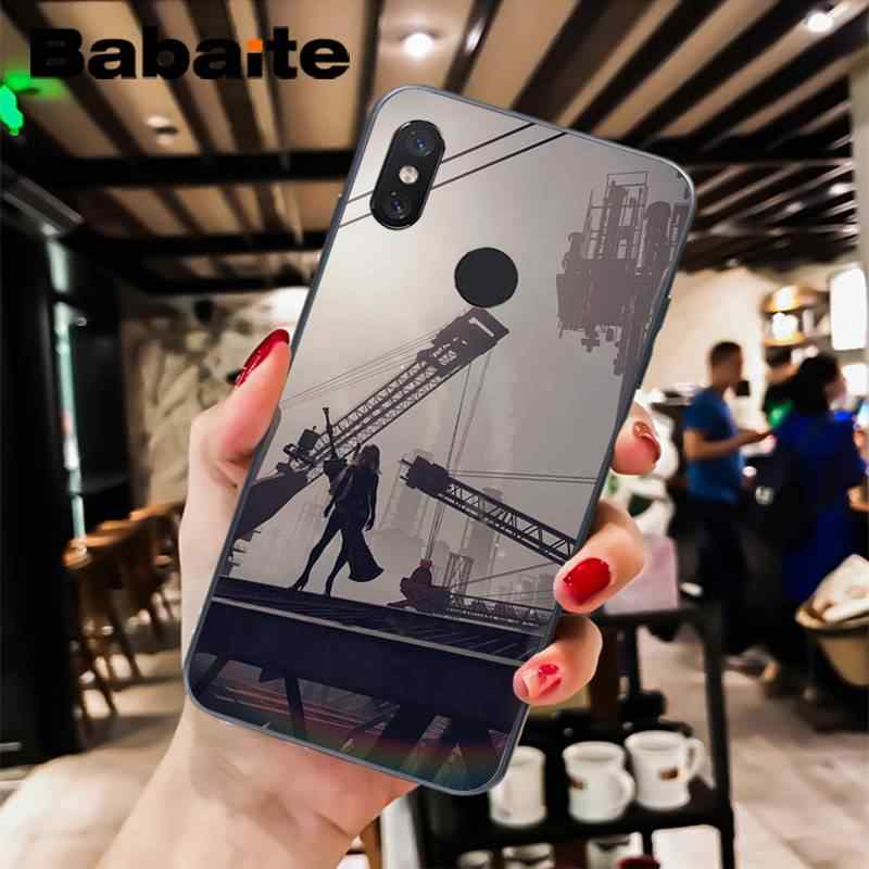 Babaite Nier Automata Silikon Lembut Tpu Ponsel Cover untuk Xiaomi 6 MIX2 8SE K20 Redmi 5A NOTE4X 7 6A Tritone shell