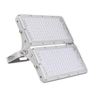 LED Flood Light Ultra-thin IP65 Waterproof Heat Radiation Food Research Lamp LED Projector Light For Courtyard Stadium Garage(China)