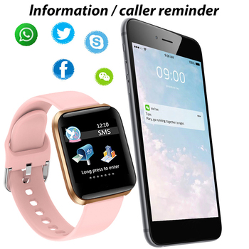 LIGE New Smart Watch Women Heart Rate Blood Pressure Monitoring Fitness Tracker Is Suitable For Android IOS Ladies Smart Watches 3