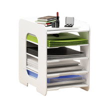 5 Layers Multifunction Document Trays File Papepr Letter Holder Stationery Storage Waterproof Desk Organizer Office Accessories