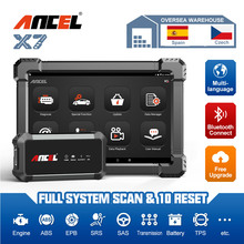 Ancel X7 OBD2 Automotive Scanner Professional Full System 10 Special Function Diagnostic Tool OBD2 ABS Oil DPF Reset Free Update