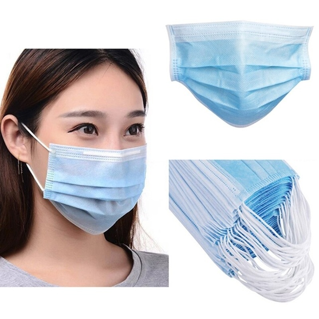 20 / 50 PCS Meltblown Cloth Masque Anti Pollution Mask Face Mouth Mask Korean Insulation Flu Saliva Use kids mask ffp2