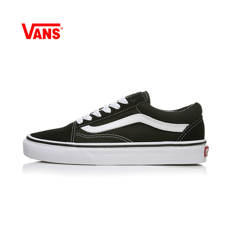 VANS OLD SKOOL Men And Women Shoes Authentic Skateboarding Shoes Outdoor Street Style Low To Help Couple Black VN000D3HY28