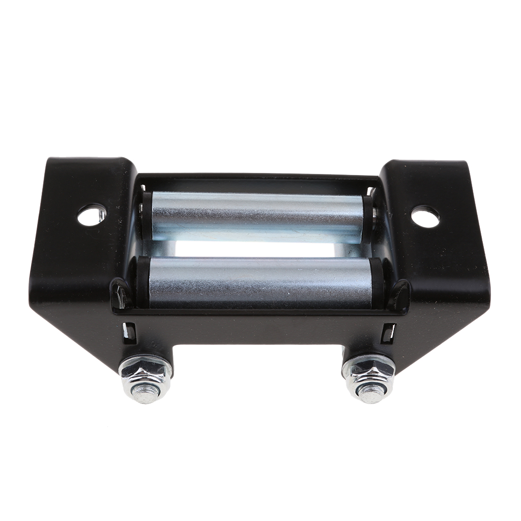 Universal Wire Rope Roller Fairlead For 3500-lb. Or Less ATV/UTV Winches Accessories, Stainless Steel