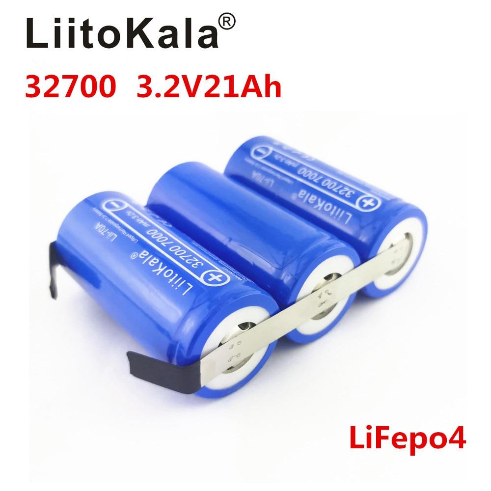 Батарея LiitoKala Lifepo4, 3,2 в, 14 а, 21 а, 28 А, 35 А, с большим разрядом, 90А, для блока батарей электродвигателя, сделай сам, 2020