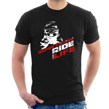 Yam Super Tenere T-Shirt Inspired Ride for Life Motorcycles Summer 2019 100% Cotton Print Men O-Neck Casual T Shirts
