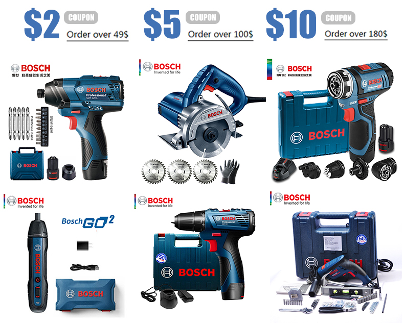 Bosch Electric Mini Circular Saw packages