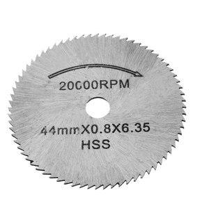 Image 5 - HSSใบเลื่อยตัดแผ่น 1 MandrelสำหรับDremelเครื่องมือโรตารี่สำหรับDremelโลหะใบมีด