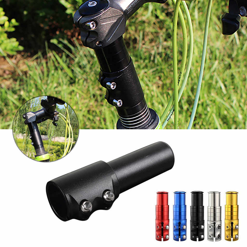 6x Mountain Road Bike Bicycle Presta Valve Extensions Extender 40-70mm Black