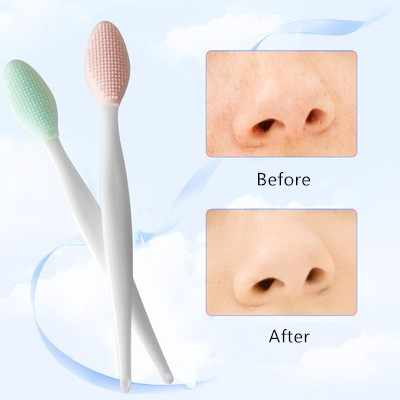 Silicone Beauty Wash Face Exfoliating Blackhead Extrator Remover Beauty Facial Cleansing Brush Tools Blackhead Remover