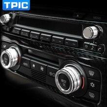 Housse de décoration pour intérieur de voiture, bouton sonore, pour BMW série 3 E90, E91, E92, E93, 2005-2012