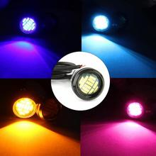 цена на Car Driving Steering Sunlight Steering Lamp DC 12V Eagle Eye LED Light Daytime Running Backup Light Car Auto Lamp