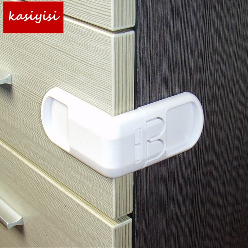 Brand New Security Cabinet Baby Lock Multi Function Plastic Drawer Locker Kids Safety Lcoker