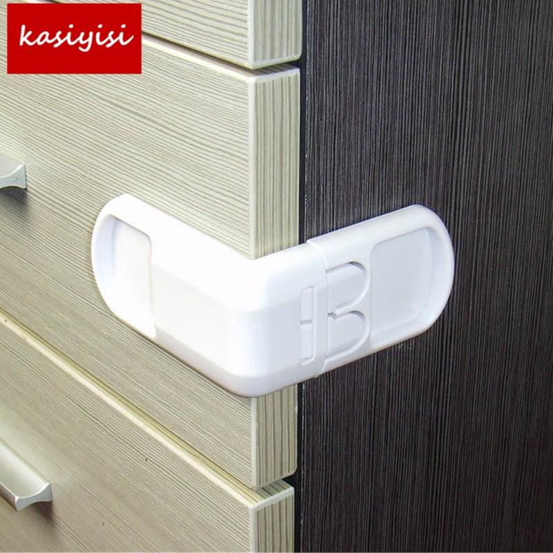 Brand New Security Cabinet Baby Lock Multi Function Plastic Drawer Locker Kids Safety Lcoker
