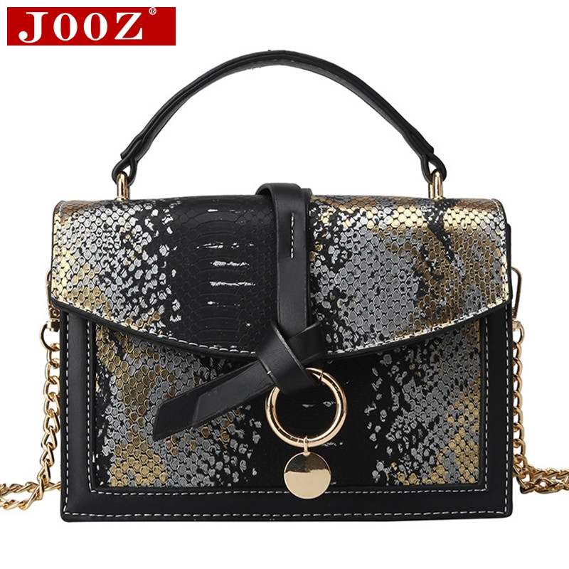 NEW Fashion Women Handbag Classic Serpentine Chain Messenger Bag Brand Design Casual Flap  Pu Leather Shoulder Bag Sac A Main