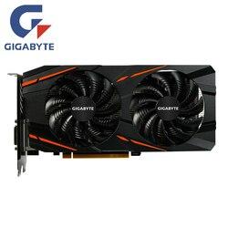 Gigabyte RX 570 8GB Scheda Video AMD Radeon RX570 8GB Scheda grafica di Gioco Dello Schermo Carte GPU PC Desktop Del Computer gioco Mappa VGA Scheda Video