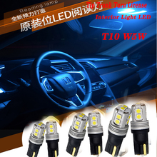 2pcs Highlight Car Trunk Turn T10 LED Light For Honda Civic 2006-2011 Accord Fit CRV HRV City Jazz Subaru Forester Impreza XV 2pcs lot new ignition coil 30520 rna a01 for honda civic 2006 2011 1 8l uf582 c1580 uf 582 30520rnaa01