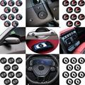 Стильные наклейки на кузов автомобиля без эмблемы, 10 шт., интерьер автомобиля, экстерьер автомобиля для Volvo Xc90 S60 S80, автомобильный Стайлинг, а...