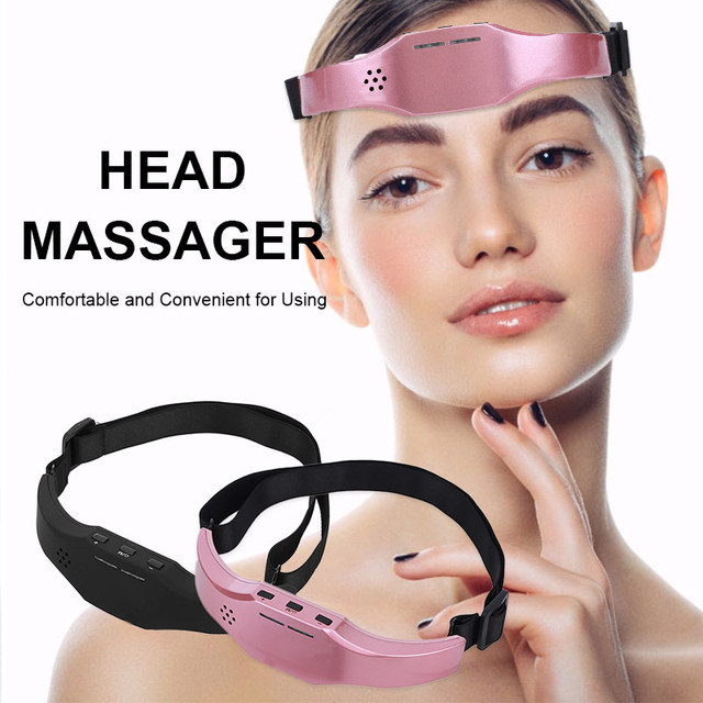 Electric Head Massager Sleep Monitor Migraine Relief Massager Insomnia Therapy Release Stress Sleep Therapy Device Sleeping Di 1