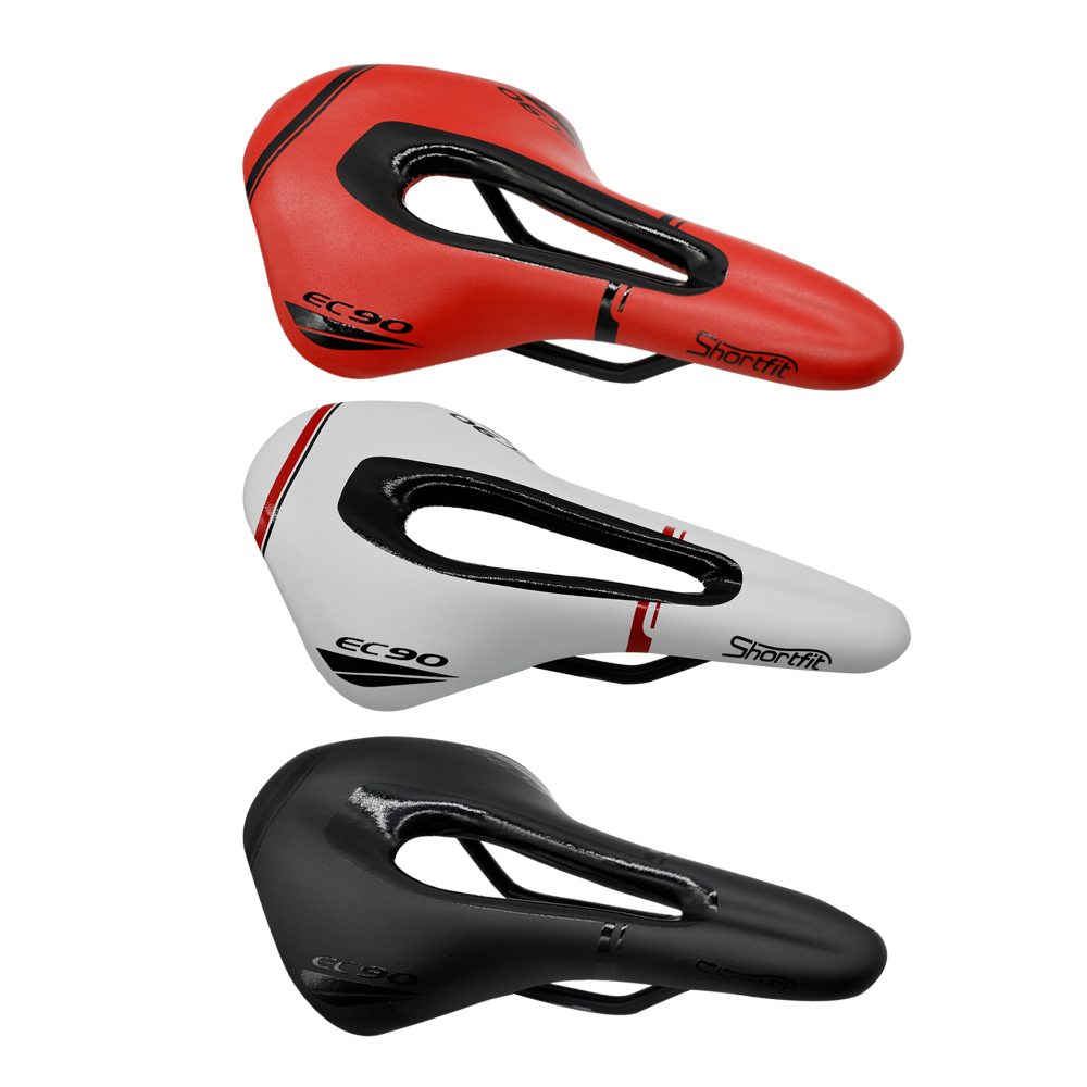 Full Carbon Fiber Road Mountain Bike Saddle / Carbon Fiber Saddle / Seat Bag Red / Yellow / Blue / Green / White 95G