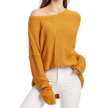 Autumn Casual Pullovers Sweaters Women Hollow Out Loose O-neck Top Long Sleeves Solid Knitted Cotton Office Ladies Soft Sweaters white cut out long sleeves bodycon crop sweaters