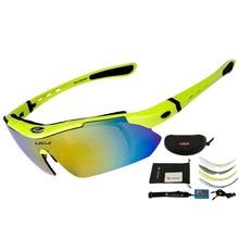 LOCLE, профессиональные велосипедные очки, UV400, поляризационные, велосипедные очки, велосипедные очки, велосипедные солнцезащитные очки, Gafas Cicismo очки