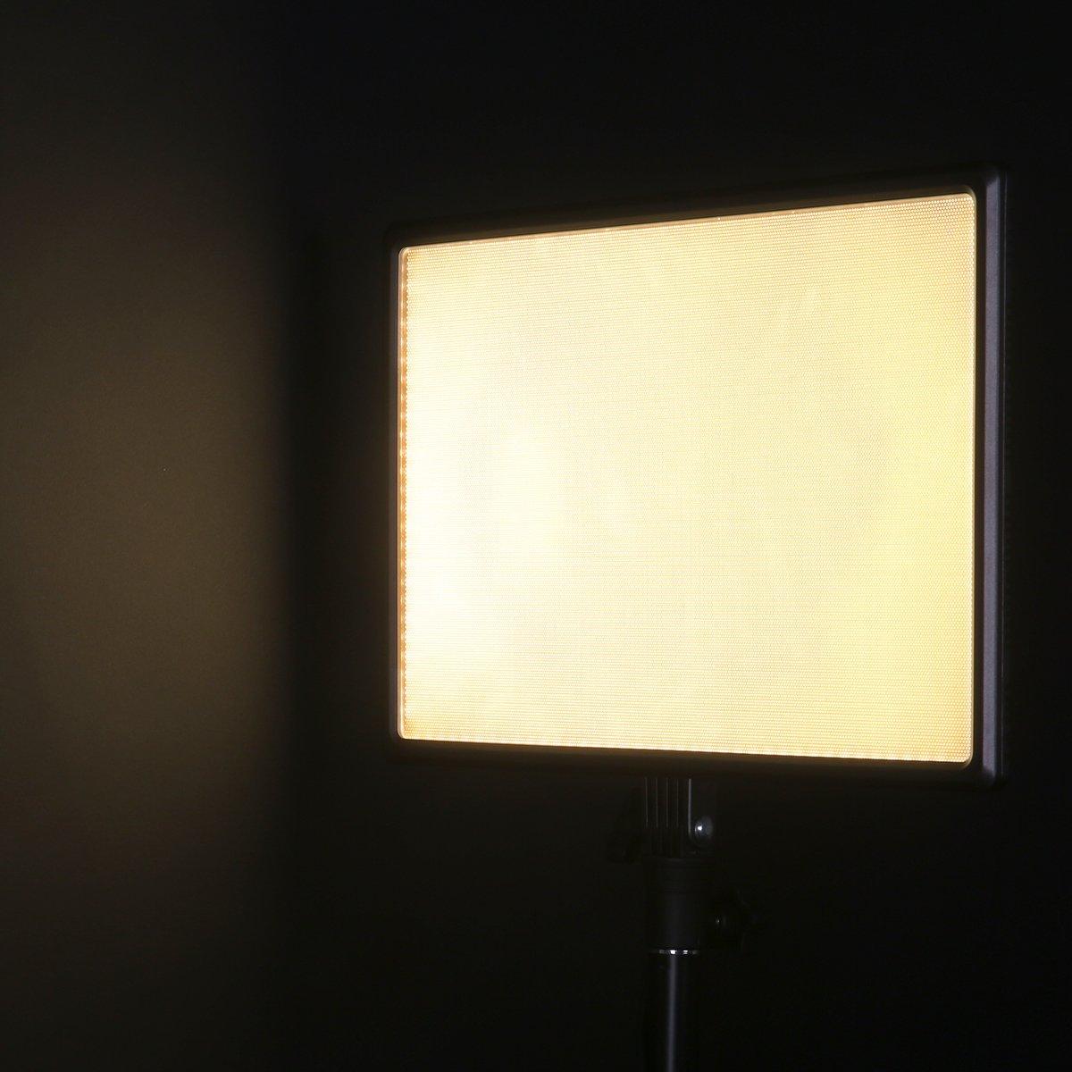 Nanguang CN-Luxpad43 Dimmable 3200 K-5600 K LED LED vidéo lumière pour Canon Panasonic Sony Samsung et Olympus Reflex numériques - 4
