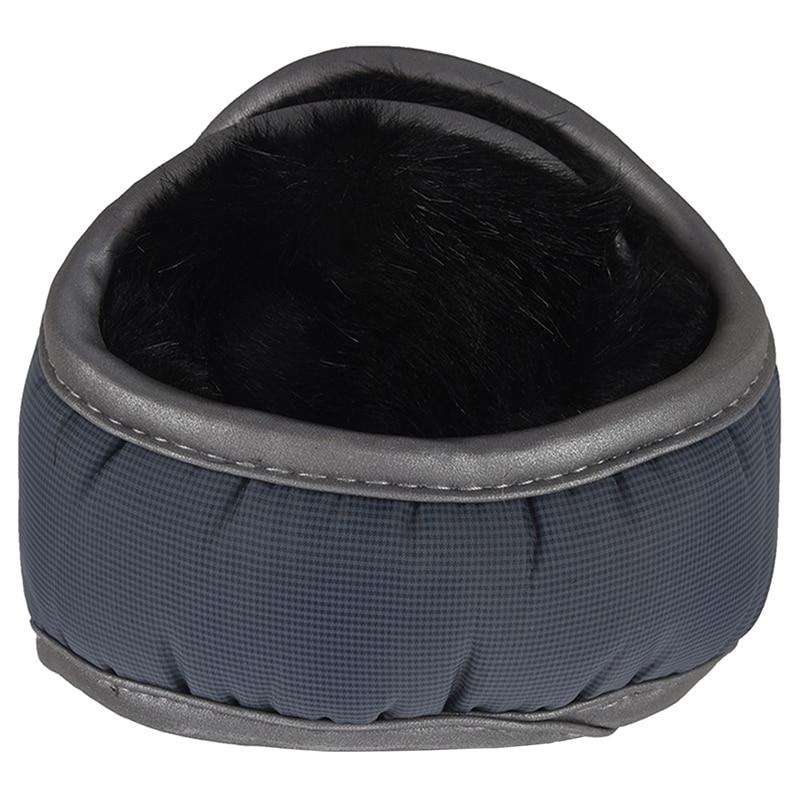 Men / Women's Winter Fleece Compact Ear Muff Warmer Gray