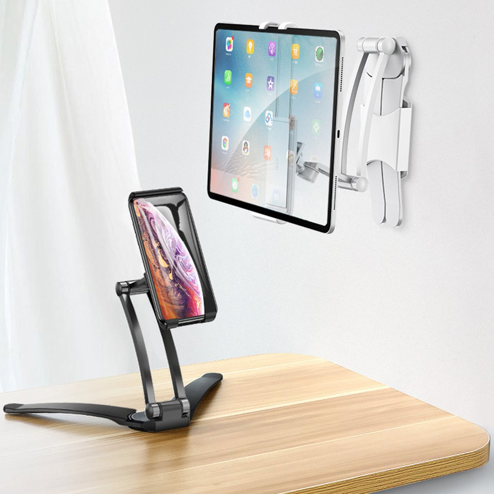Desktop & Wall Pull-Up Lazy Bracket New Desktop Double-section Stretch Bracket Selfie Live Bracket Mobile Phone Bracket