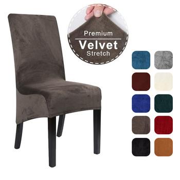 1 2 4 6 sztuk Velvet XL rozmiar długie krzesło z oparciem pokrywa elastan krzesło do jadalni narzuty duża elastyczna Stretch Case do kuchni bankiet tanie i dobre opinie CN (pochodzenie) Chair Cover PRINTED Nowoczesne krzesło plażowe Na fotel Hotel krzesło Krzesło bankietowe Krzesło na ślub