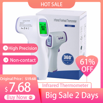 2020 Digital Infrared Fever Ear Thermometer Baby Infrared Thermometer Forehead Body Non-Contact Thermometer Fast Ship baby adult infrared thermometer children s home medical infrared thermometer multifunction fast accurate detection thermometer