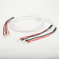 Audiophile Hiend hifi Audio Banana Plug AMP Speaker Cable wire 3mm2 Banana Speaker Cable Wire