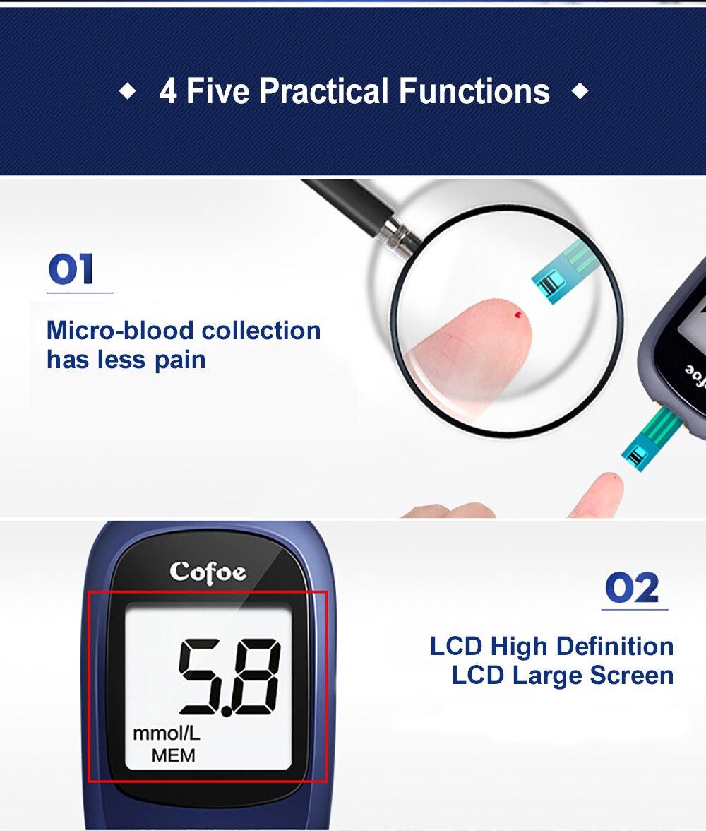 no sangue medidor de glicose médica &