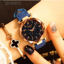 Women watch Luxury Watches magnetic starry sky Female Clock Quartz Wristwatch Fashion Ladies quartz wristwatches