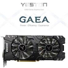 Yeston RX580-2048SP-8G D5 GAEA Grafikkarten Radeon Chill Polaris 20 Dual Fan Kühlung 8GB GDDR5 256bit Gaming Grafikkarte