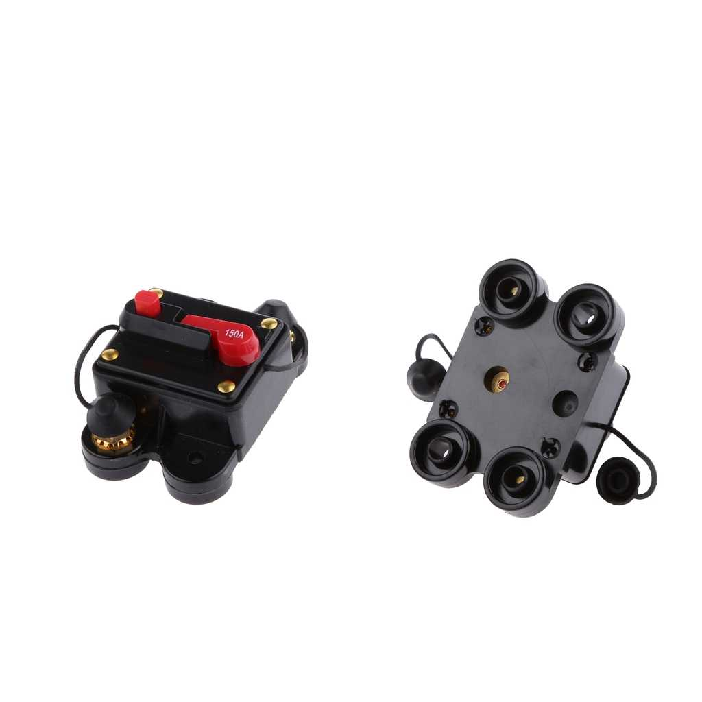 2pcs 12V 250A 150A DC Automatic Fuse Switch Circuit Breaker Reset Fuse For  Car Marine Boat Bike Stereo Audio| | - AliExpressAliExpress