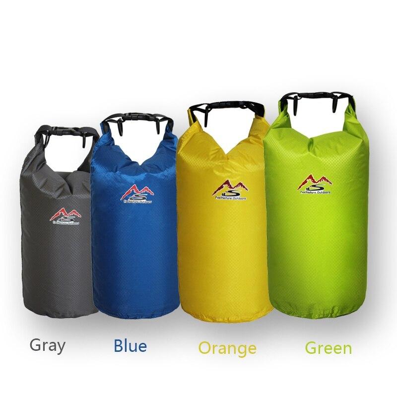 5L / 10L / 20L / 30L Outdoor Dry Waterdichte Tas Dry Bag Sack Waterdichte Droog Gear Tassen Voor  Vissen Rafting Zwemmen Stream