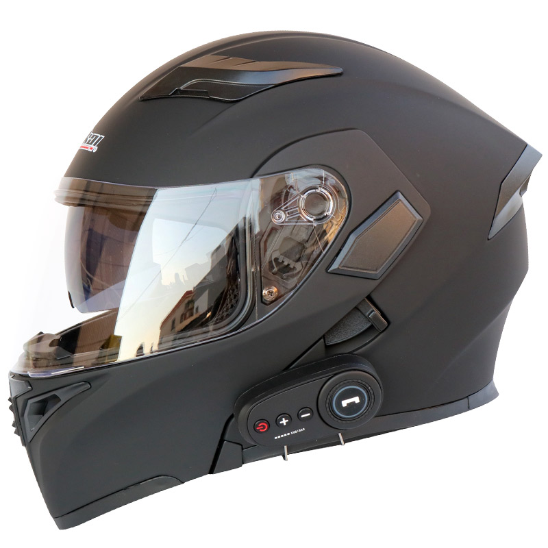 Motorcycle Helmet Motorcycle Bluetooth Helmet Electric Vehicle Helmet 1200 MAh Battery Life