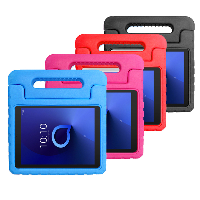 Kid Case For Alcatel 3T 8 Inch 9027W Alcatel T mobile A30 8 Inch 9024W 2019 Tablet Case Shockproof Super Protective Case funda