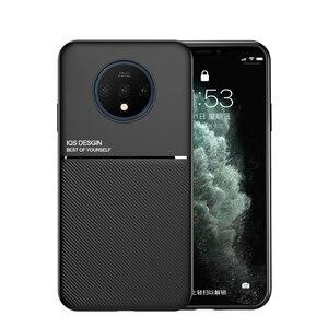 Pokrowiec na OnePlus 8 Oneplus 8 Pro pokrowiec na telefon luksusowa, odporna na wstrząsy skóra miękka matowe etui na Oneplus 7 7T Pro etui 1 + 7 1 + 8 okładka