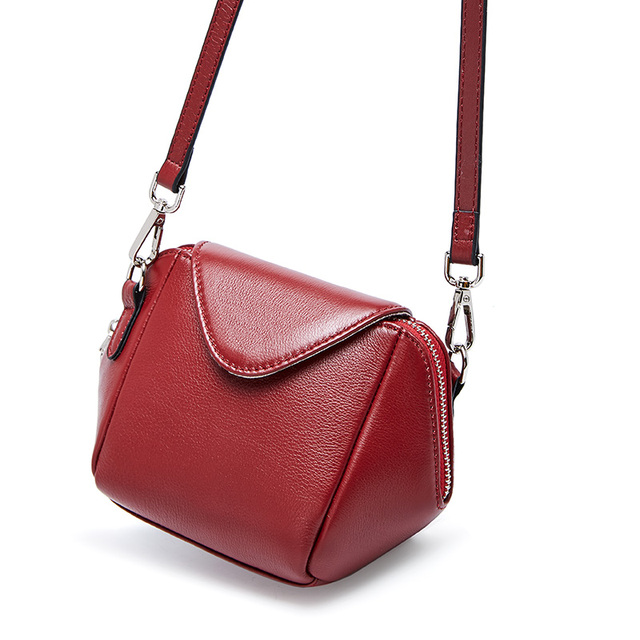 2019 High Quality Women Handbag New Luxury Messenger Bag Soft Genuine Leather Shoulder Fashion Ladies Crossbody Bags Female