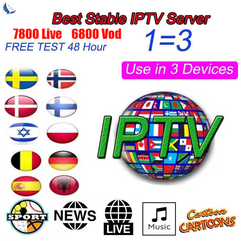 French IPTV Subscription Europe IPTV France Portugal Arabic IPTV Spain Germany M3u Support 3 Device Android Box Enigma2 Smart Tv
