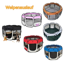 Portable Folding Pet Tent Dog House Octagonal Cage For Cat Tent Playpen Puppy Kennel Easy Operation Fence Outdoor Dogs House HWC