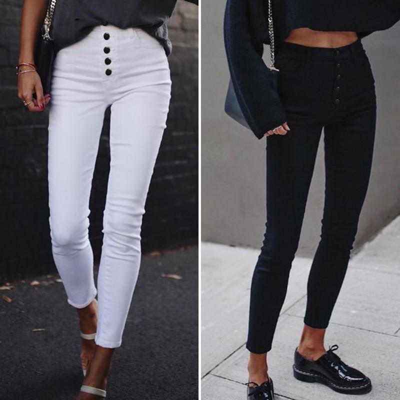 ZANZEA 2020 Fashion High Waist Pants Women Casual Buttons Trousers Solid Elastic Bottoms Harem Long Pantalones Streetwear 5XL